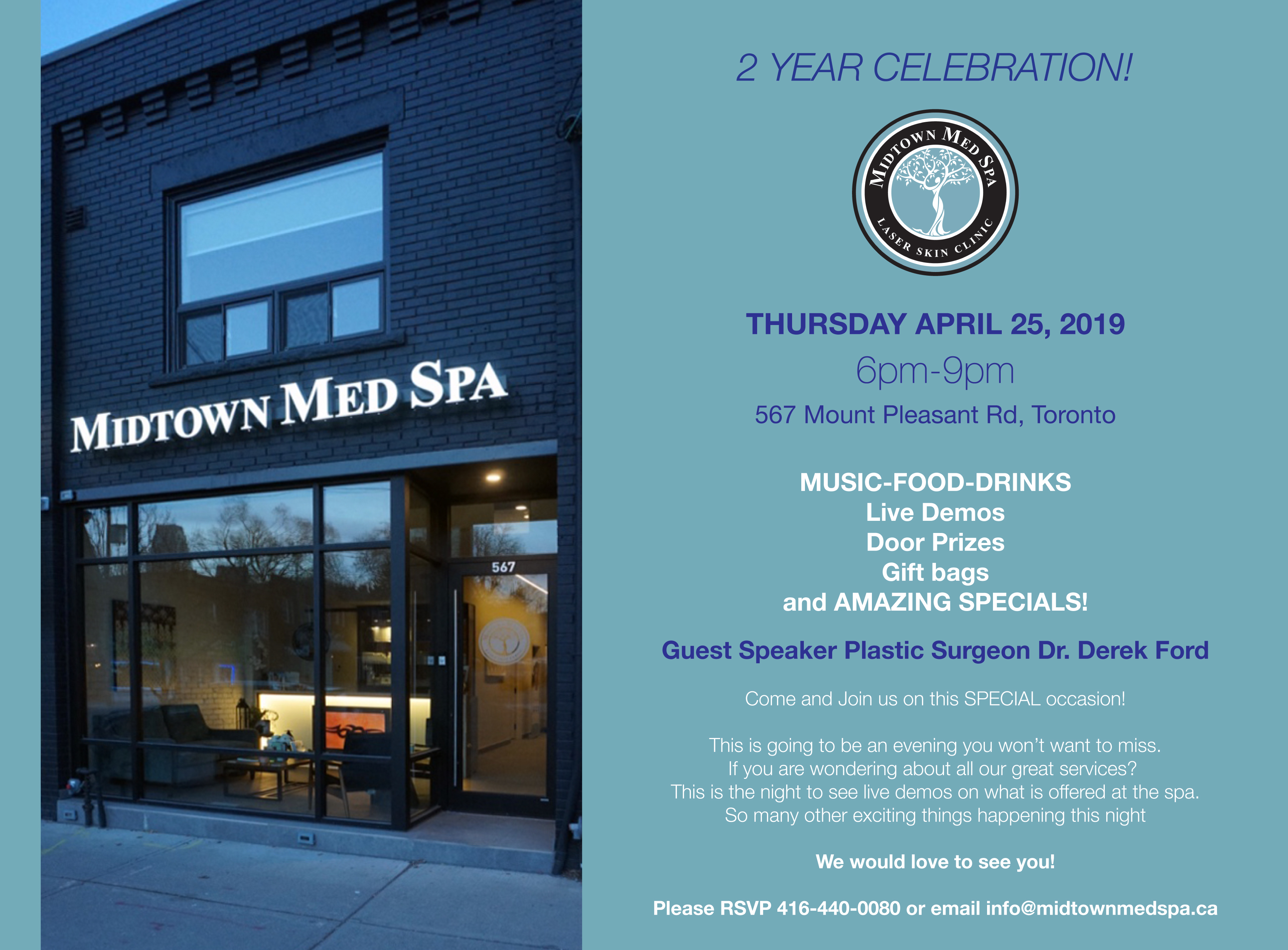 Midtown Med Spa 2 Year Celebration